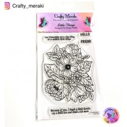 CRAFTY MERAKI LITTLE THINGS CLEAR STAMP SET