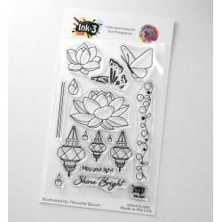 CRAFTY MERAKI INKON3 COLLABORATION - SHINE BRIGHT STAMP SET