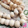 25 mm Wooden Beads, 10 Pieces