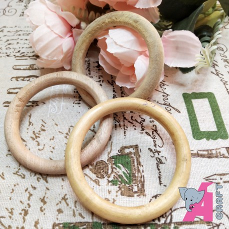 3 Inch Wooden Ring, 1 Piece