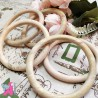 3.75 Inch Wooden Ring, 1 Piece