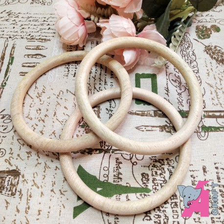 5 Inch Wooden Ring, 1 Piece
