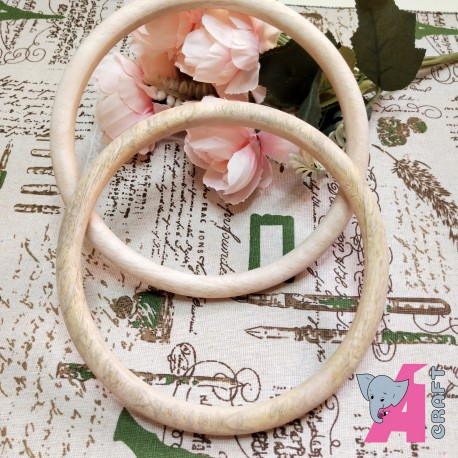 6 Inch Wooden Ring, 1 Piece