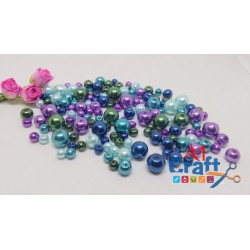 Ocean Mix Glass Pearls