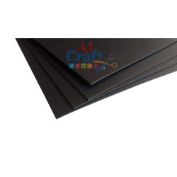 1000 GSM Black Chipboard, 12*12 Inch, 1 Piece