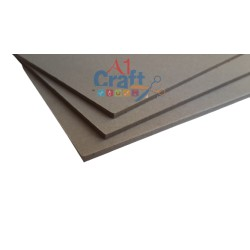 1450 GSM Grey Chipboard, 12*12 Inch, 1 Piece