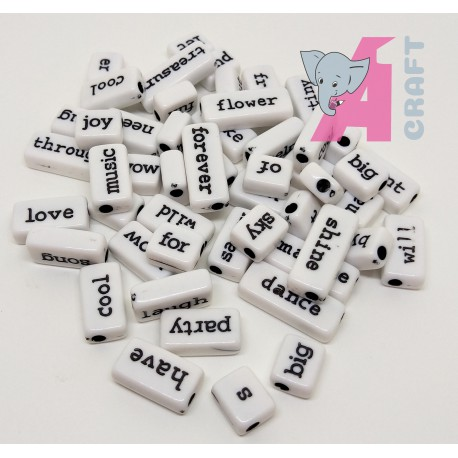 Sentiment Tiles, Black n White