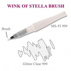 Wink Of Stella Brush Glitter Marker- Clear