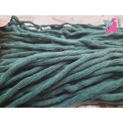 4 mm Single Strand, Green Cotton, 50 Meters