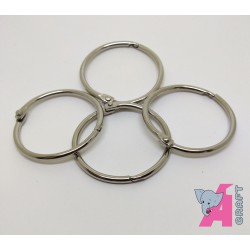 Card Rings, 4 Pieces, 44 mm