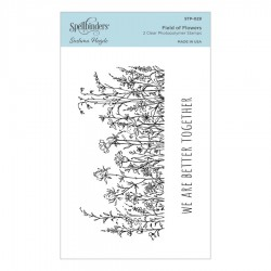Field of Flowers Clear Stamp Set by Sushma Hegde