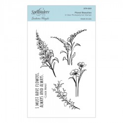 Floral Beauties Clear Stamp Set by Sushma Hegde