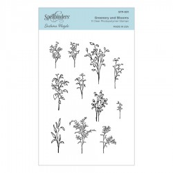 Greenery and Blooms Clear Stamp Set by Sushma Hegde