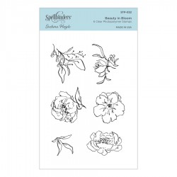 Beauty in Bloom Clear Stamp Set by Sushma Hegde
