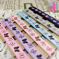 Butterfly Print Gingham Ribbon Combo Pack