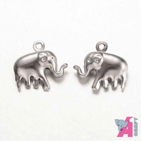 Elephant, 10 pieces,15*15 mm