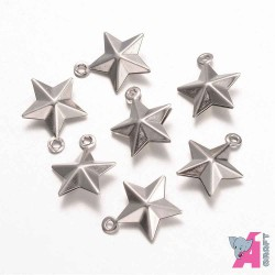 Star, 10 pieces, 15*12 mm