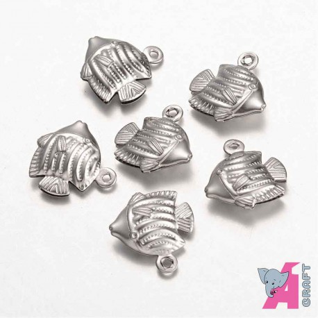 Fish, 10 pieces, 13*12 mm