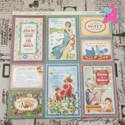 Graphic 45 Home Sweet Home Paper Pack