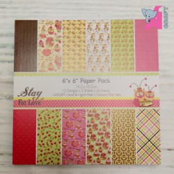 Stay For Love Paper Pack