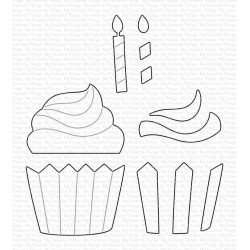 Frosted Cupcake Die-namics WS