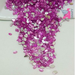 2*3 mm Oval Light Orchid Rhinestones