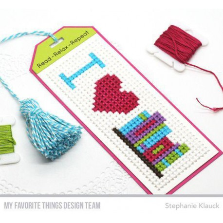 Cross-Stitch Bookmark Die-namics