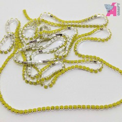 2 mm Pearl Chain Golden Cup