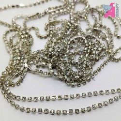 1.5 mm Transparent Chain Silver Cup
